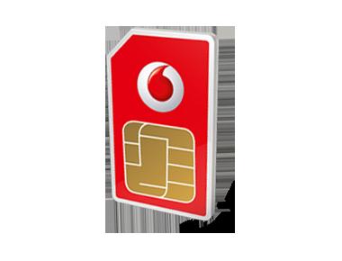 Vodafone prepaid internet simkaart