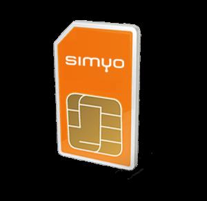 Simyo prepaid internet simkaart