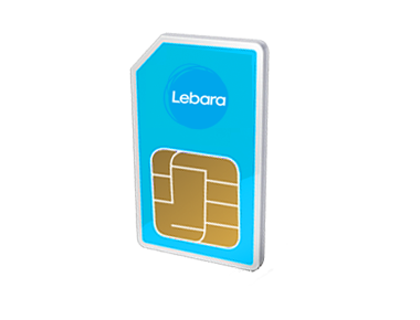 Lebara prepaid internet simkaart