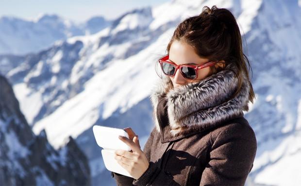 internet op wintersport