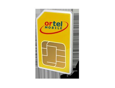 Ortel prepaid internet simkaart