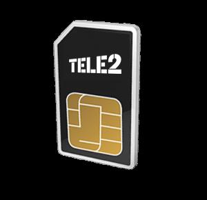 Tele2 prepaid internet simkaart